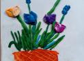 Первоцветы в корзине, Маша Томилова